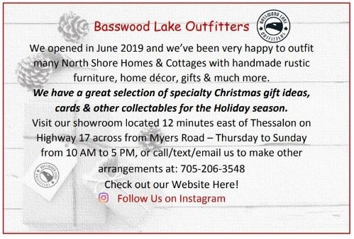 Basswood Lake Outfitters XMAS Ad 2