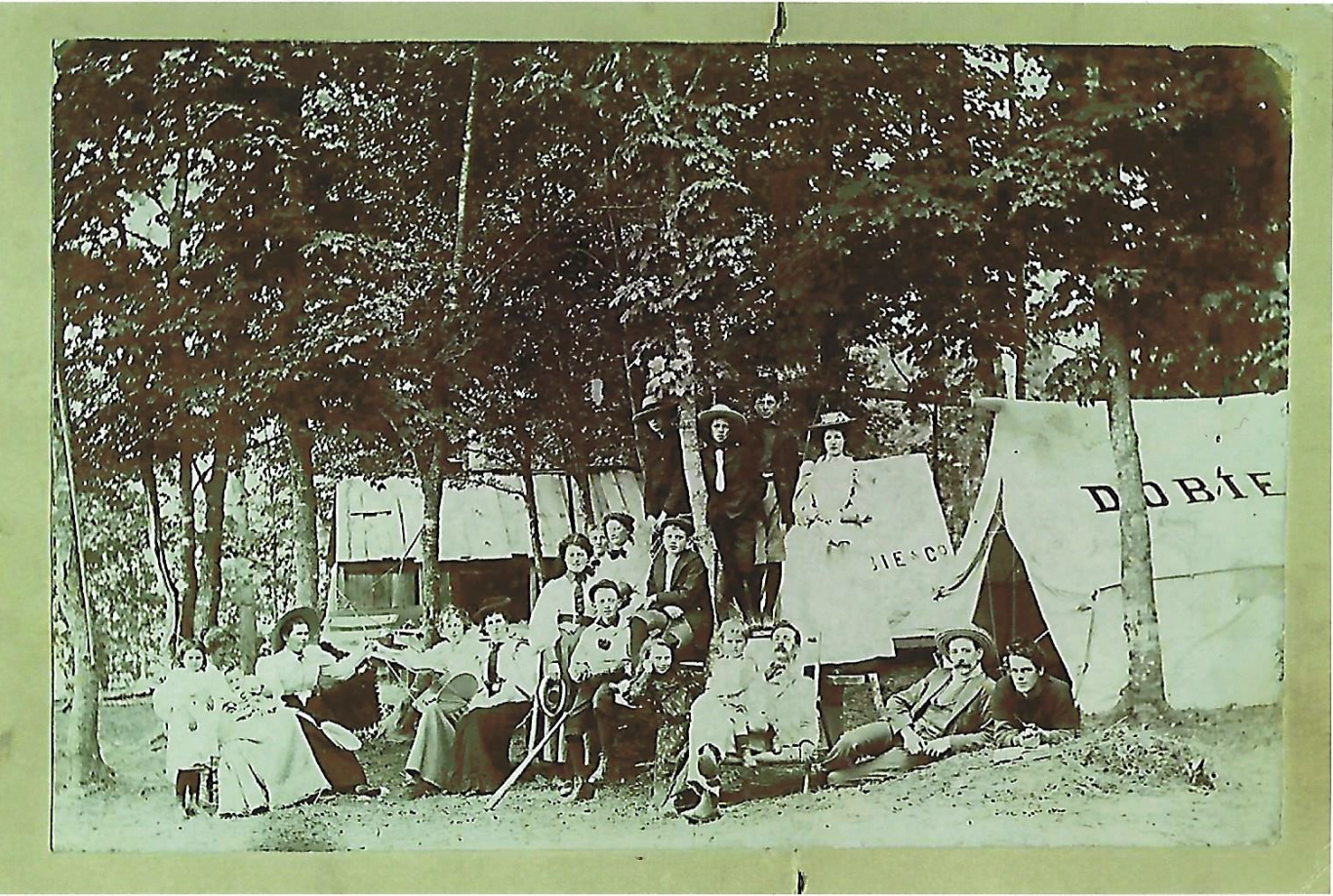 Basswood Lake Picnic circa 1890