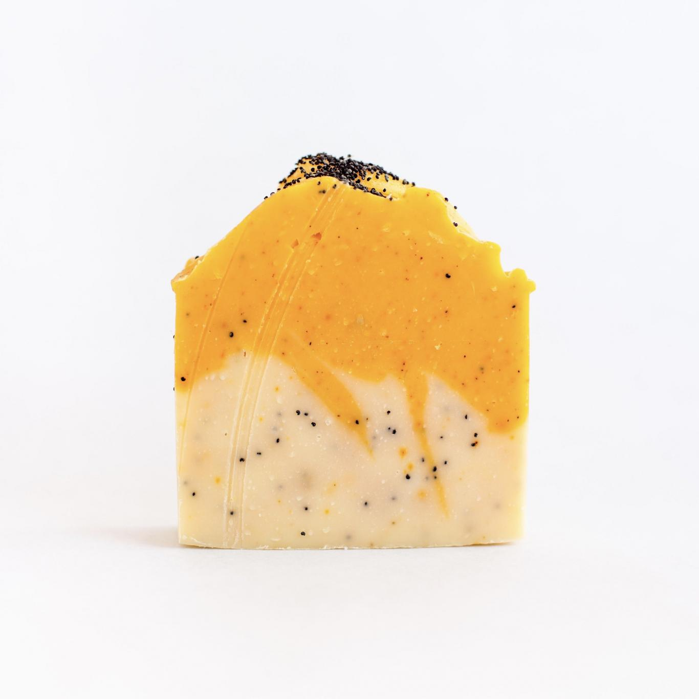 Citrus Poppyseed Soap Bar2