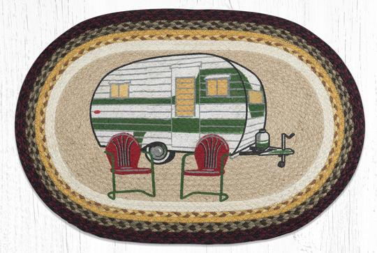 Earth Rugs - Camper - Oval - 20 x 30