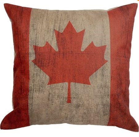 HUI - Canadian Flag Pillow