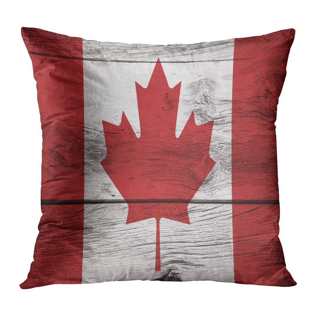Maple Leaf Shiplap OUTDOOR Pillow