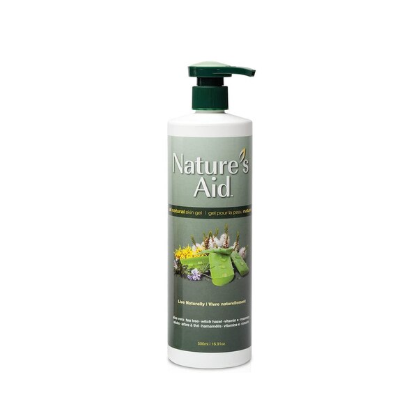 Nature's Aid - True Natural Skin Gel - 500ml2