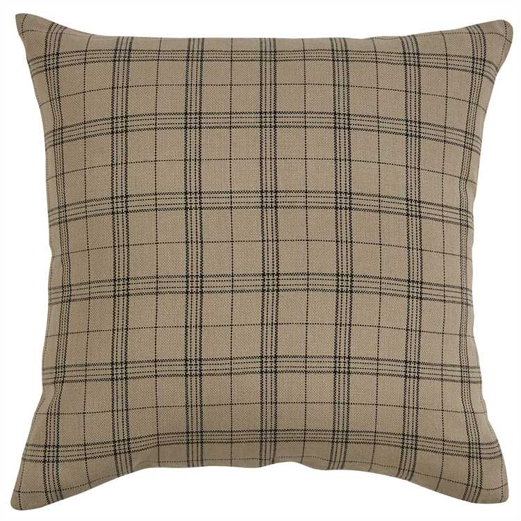 Park Designs - Fieldstone Plaid Pillow - Feather Filled - 20 x 20