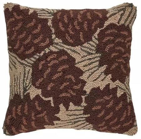 Park Designs - Walk In Woods Hooked Pillow - Feather Fill