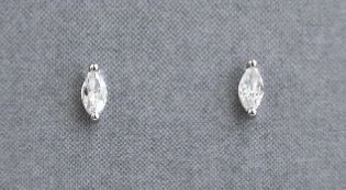 Statement Grey - Iris Marquise Earrings2