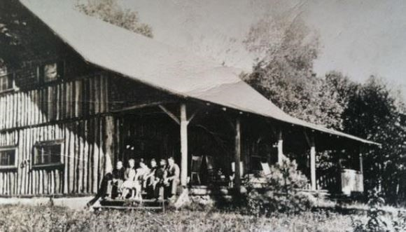 The Canadian Camp Clubhouse on the north east shore of Big Basswood Lake at a later date – 1930's